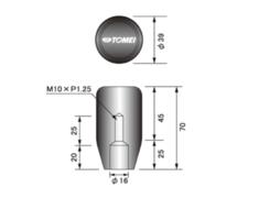 Nissan - Length: Short - Thread: M10 x P1.25 - 32865S010S