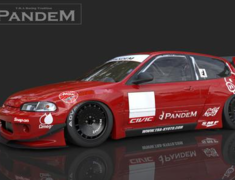 Rocket Bunny - Honda Civic (EG6) Wide Body Kit