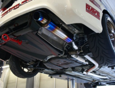Civic Type R - FD2 - Pieces: 2 - Pipe Size: 70mm - R304-D2-70RR