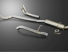 Civic Type R - EP3 - Pieces: 3 - Pipe Size: 70mm - R304-P3-70RR