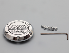 - Spindle Cap Model F7 H78S - For VS MODEL F7 PCD 114.3/112/120 - Colour: Bright Chrome - Z9020