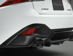 IS 200t - ASE30 - Rear Diffuser - Sports muffler and rear diffuser must be installed with together. - Colour: BLACK EDITION - MS343-53003