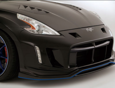 370Z - Z34 - Replacement Parts UNDER LIP (only) - Construction: Carbon - VANI-097