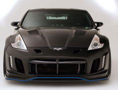 370Z - Z34 - COOLING BONNET with duct cover - Construction: FRP - VBNI-107