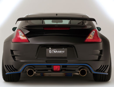 370Z - Z34 - GT-WING HYPER NARROW 1360 & WING BASE - (See Note 3) - Construction: VSDC + CARBON - VANI-032