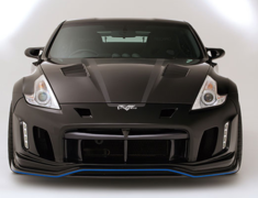 370Z - Z34 - FRONT BUMPER for Day Light - (See Note 1) - Construction: FRP + Carbon (Lip) - VANI-093