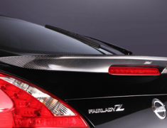 Fairlady Z - 370Z - Z34 - REAR SPOILER - Construction: Carbon - VANI-030