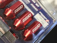 RAYS - L42 Duralumin Straight Lock Nut Set (4 Piece)