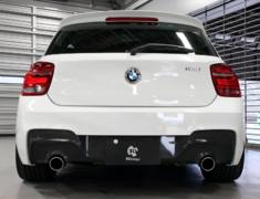- Rear Diffuser for 2 Tip 3D Design Exhaust - Construction: Carbon - 3108-22011