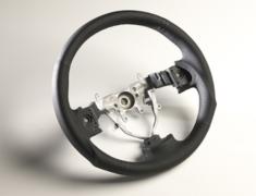 Exiga - YA5 - Black Stitch - Color: Black/Black Stitch - Diameter: 358mm - Type: Round - SS358-S(L)