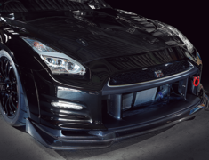 GTR - R35 - Material: FRP/Carbon - Front Bumper V2