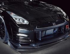 GT-R - R35 - Material: FRP/Carbon - Front Bumper V2