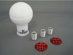 Nissan - Colour: White - Material: Duracon - VRMW
