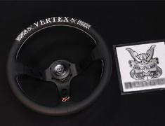 Car Make T&E - Vertex - Steering Wheel - VERTEX CHECKER