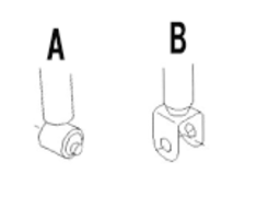 Skyline - R33 GTS-t - ECR33 - Rear Bottom: Type A - Front Spring: 12K - Rear Spring: 9K - Upper Mounts: Fixed Urethane - 503106