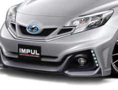 Note - E12 - HR12DDR - Includes IMPUL emblem, chrome panels - Construction: FRP - Colour: Unpainted - Front Grille