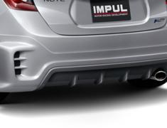 Note - E12 - HR12DDR - Construction: FRP - Colour: Unpainted - Rear Half Spolier