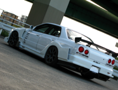 Skyline - R34 25GTT - ER34 - GT Fender Kit