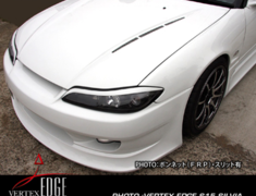 Silvia - S15 - Construction: FRP - Bonnet - with Slits