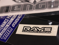 RAYS - Volk Racing RE30 Wheel Stickers