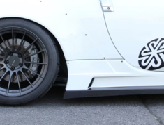 350Z - Z33 - Material: FRP/Carbon - Side Step Adapters