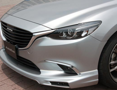 Atenza Wagon - GJ2FW - Front Grille Garnish - Construction: ABS - Colour: Piano Black - MGJ2510