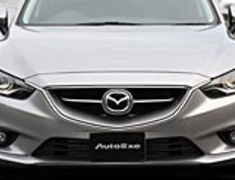 Atenza Wagon - GJ2FW - Front Grille - For Mazda OEM Bumper - Construction: FRP - Colour: Unpainted - MGJ2500