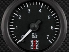 - Oil pressure gauge - 6202-ST3301