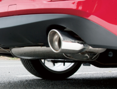 Knight Sports - Legal Sports Muffler for Atenza