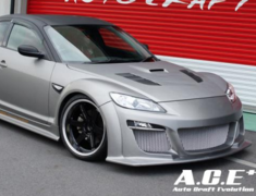 Auto Craft Evolution - Front Bumper Ver.II for RX-8