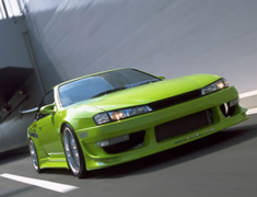 Silvia - S14 - Construction: FRP - Colour: Unpainted - 7P Set