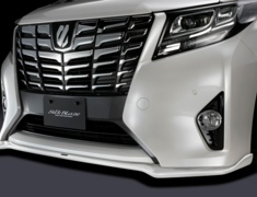 Alphard 2.5/Vellfire 2.5 - AGH30W - Material: FRP - Colour: White Pearl Crystal Shine (070) - TSR30ALX-FS-070