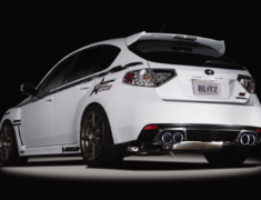 Impreza WRX STI - GRB - Pieces: 2 - Pipe Size: 80~50mm (x4) - Tail Size: 101.6mm (x4) - 62067V