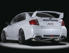 Impreza WRX STI - GVB - Pieces: 3 - Pipe Size: 80~60mm (x2) - Tail Size: 101.6mm (x4) - 62083V