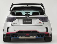 Impreza WRX STI - GRB - Rear Diffuser - Construction: Carbon - VASU-178