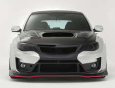 Impreza WRX STI - GRB - Replacement Front Lip - Construction: Carbon - VASU-153