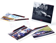 STI - 2018 Motorsports Desk Calendar