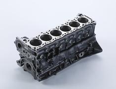 Skyline GT-R - BNR32 - Cylinder Block - OEM Part Number: 11000-05U00 - 11000-RHR20
