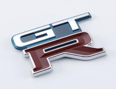 Skyline GT-R - BNR32 - EMBLEM-REAR (TH1) - OEM Part Number: 84896-05U04 - 84896-RHR24