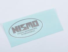 Skyline GT-R - BNR32 - Nismo Label - Rear - OEM Part Number: 99099-06U00 - 99099-RJR20