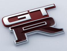 Skyline GT-R - BNR32 - EMBLEM-REAR (AH3) - OEM Part Number: 84896-05U01 - 84896-RHR21