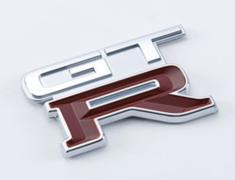 Skyline GT-R - BNR32 - EMBLEM-REAR (KG1) - OEM Part Number: 84896-05U02 - 84896-RHR22
