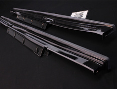 GT-R - R35 - Side Skirt Set - Construction: FRP - Colour: Unpainted - 7685S-RSR50