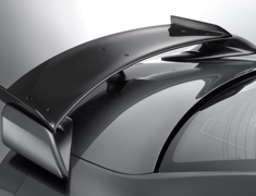 GT-R - R35 - Add-on Rear Spoiler - Construction: Dry Carbon - Colour: Clear Finish - 98100-RSR50