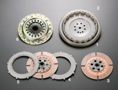 GTO - Z16A - Type: Twin - Clutch Cover: Press - Clamping Force: 9,800Nm - TS2C-Z16A