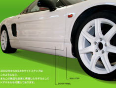 Route KS - ZAZ Type R Style Side Step & Door Panel