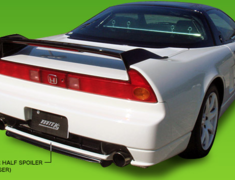 Route KS - ZAZ Type R Style Rear Under Half Spoiler