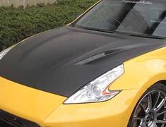 Fairlady Z - 370Z - Z34 - Material: FRP Black Gel Finish - 100064