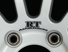 - ADVAN Racing RT dedicated sticker between nut holes - Colour: Dark Blue - Quantity: 2 - Wheel: Racing Hyper Silver / Racing White - V0211