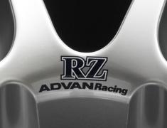 - ADVAN Racing RZ dedicated sticker between nut holes - Colour: Dark Blue - Quantity: 2 - Wheel: Racing Hyper Silver / Bronze - Z9153